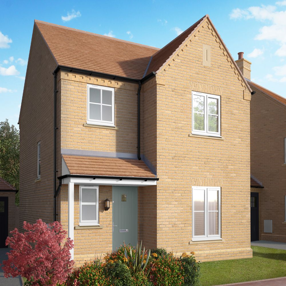 New properties for sale in alconbury weald morris homes for Morris home